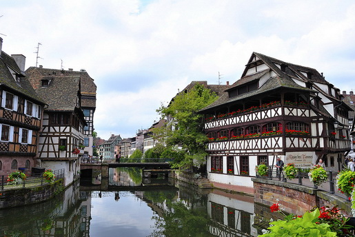Estrasburgo, zona histórica (de Me Gusta Volar Iberia)
