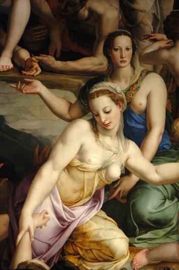 Pintura de Bronzino.