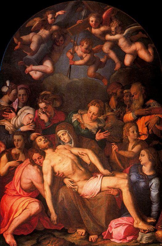 """""""Bajan a Cristo de la cruz"""" (1553)"""