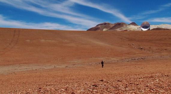 Diserto de Atacama, al norte de Chile, donde fuero enterrados desaparecidos políticos en la dictadura de Pinochet.