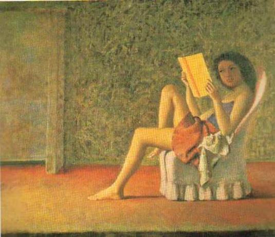 Balthus. Lectora.