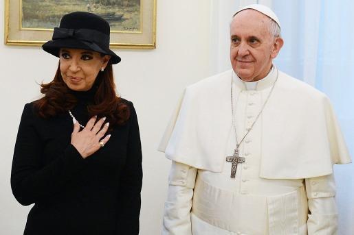 Con Cristina Fernández de Kirchner