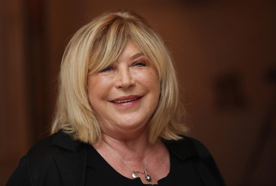 Marianne Faithfull, hace poco. Regresó a la canción en 1979 y en los años del 2000 trabajó en conocidas películas.