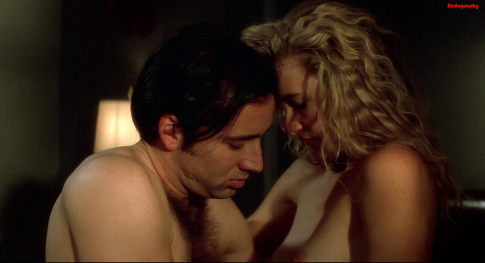 """Nicolas Cage y Laura Dern en una escena de la apasionada """"Corazón salvaje""""."""