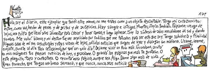 Miguel Rep (diario Página12, de Buenos Aires, domingo 22 de setiembre 2013.)