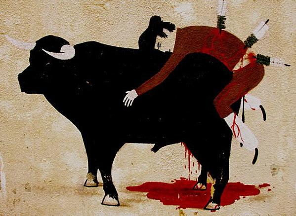 Oreka Komunikazioa. Toro y torero.