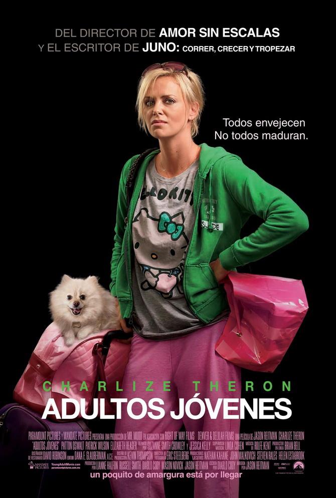 Afiche de Adultos Jóvenes, que va este jueves, mañana, a las 22 por Cinecanal.
