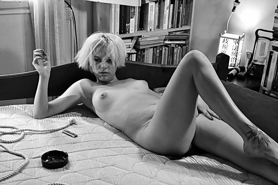 Amílcar Moretti fotografía y descubre a un personaje: Virginia Grieco. Sábado 23 noviembre 2013. Argentina.