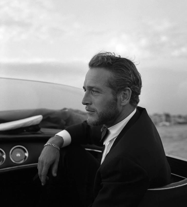 Paul Newman, en Venecia, durante un festival de cine.