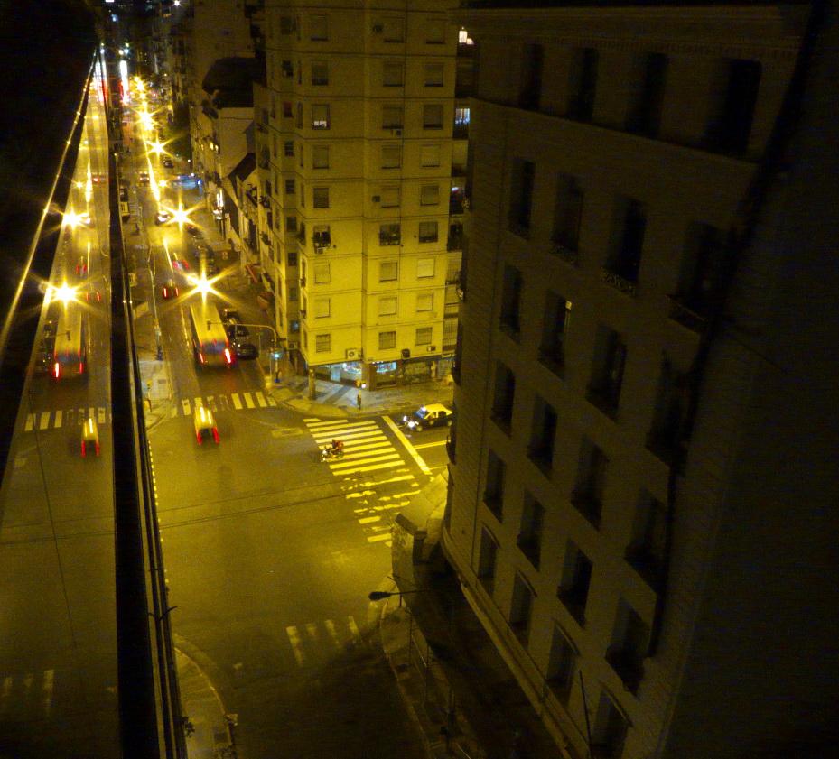 Viamonte y Callao. Para navidades 2013. Buenos Aires. Argentina.