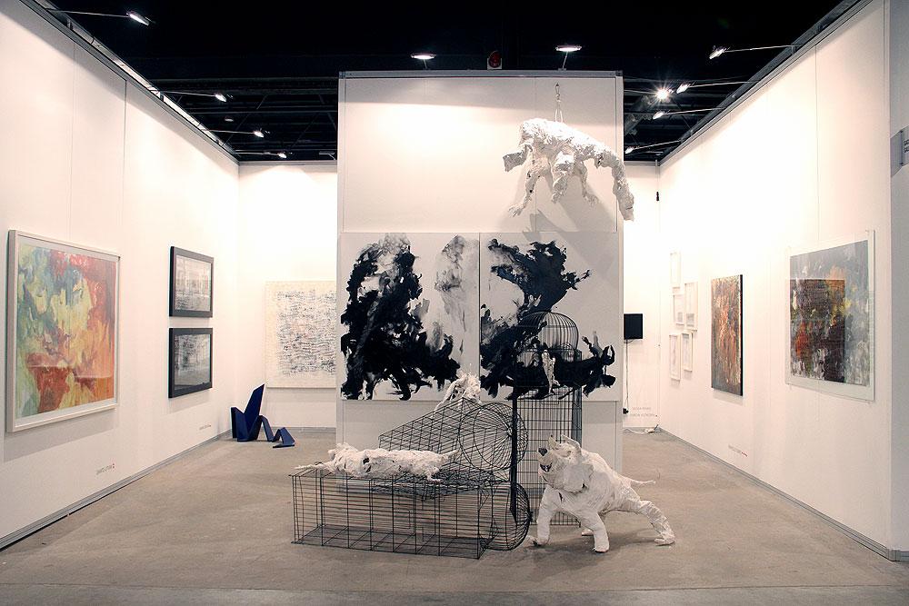 Obra presentada por Gachi Prieto Galery en arteBA