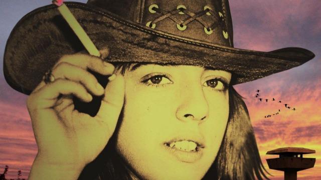 Claudia Sobrero, en juventud cuando el homicidio del dibujante Lino Palacio. Foto de eldiario.com.ar