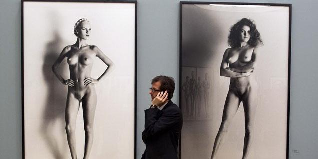 Helmut Newton parada 4 MUestra