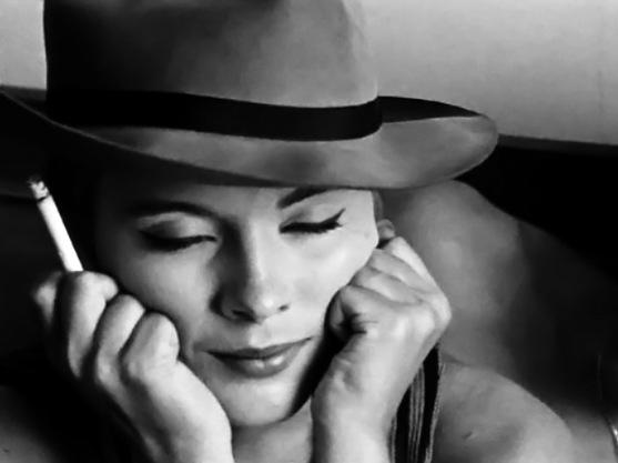 Jean Seberg, la actriz norteamericana que murió, de modo misterioso, en Francia.