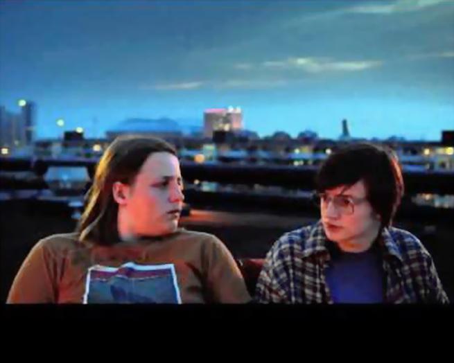 Los protagonistas de una película seria sobre la adolescencia nerd y geek (de article.wn.com)