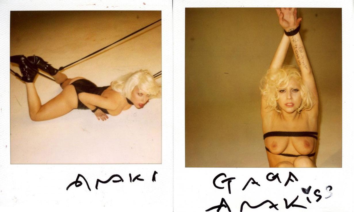 Lady Gaga por Araki.