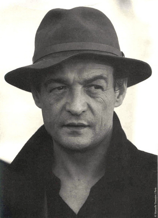 Philippe Léotard, actor y cantante francés.
