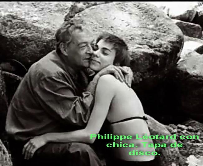 philippe leotard con chica