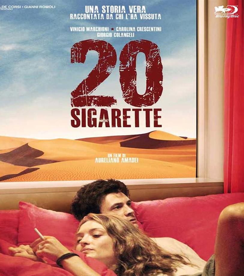 """""""20 cigarrillos"""", el domingo a las 22, película italiana, sobre lo sucedido al cineasta Aureliano Amadie cuando fue a filmar a Irak."""