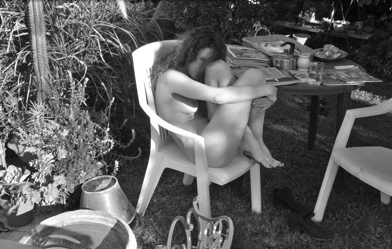 Tarde de sol, última de otoño, antes de la anunciada ola polar. Domingo 1 y lunes 2 de mayo 2014, con Malina. Amílcar Moretti. Argentina.