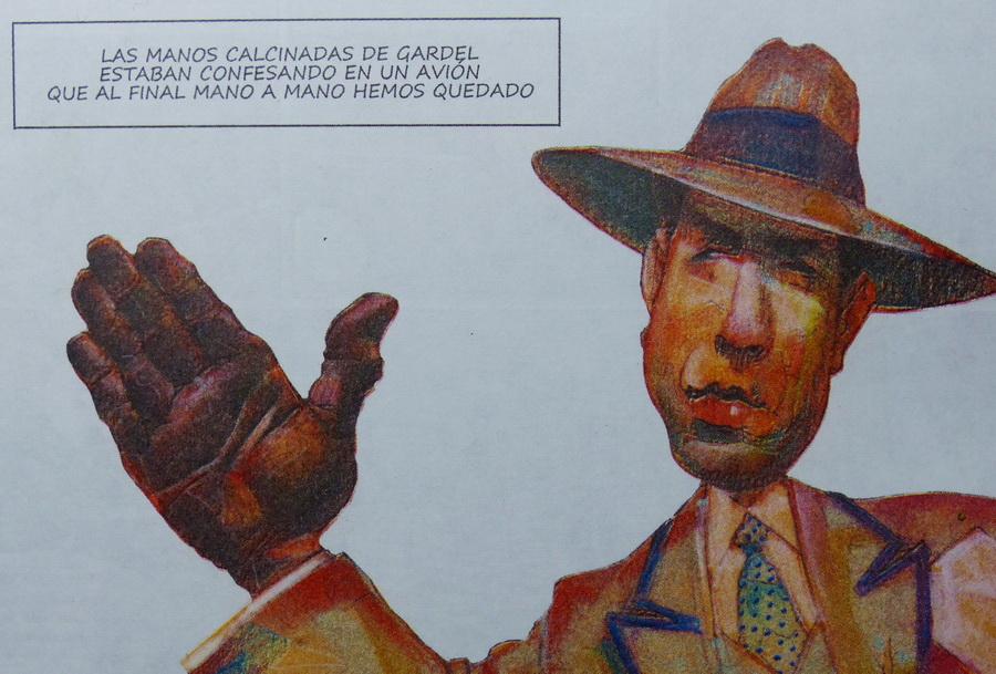 Gardel. por El Tomi. Rev. Fierro. Junio 2014