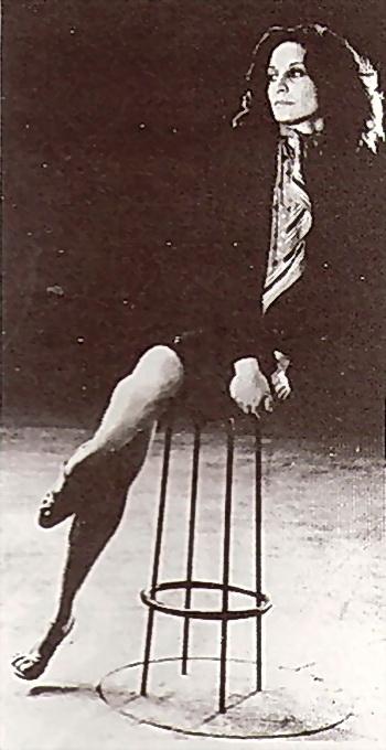 Iris Scaccheri (autor de la imagen no identificado. Si alguien lo identifica y puede informarme, estaré muy agradecido).