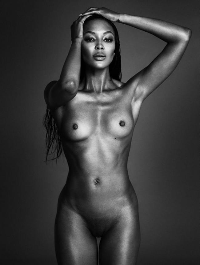 Naomi Campbell por Mert Alas & t Marcus Piggott, para Intrview Magazine de moda, cultura y arte.