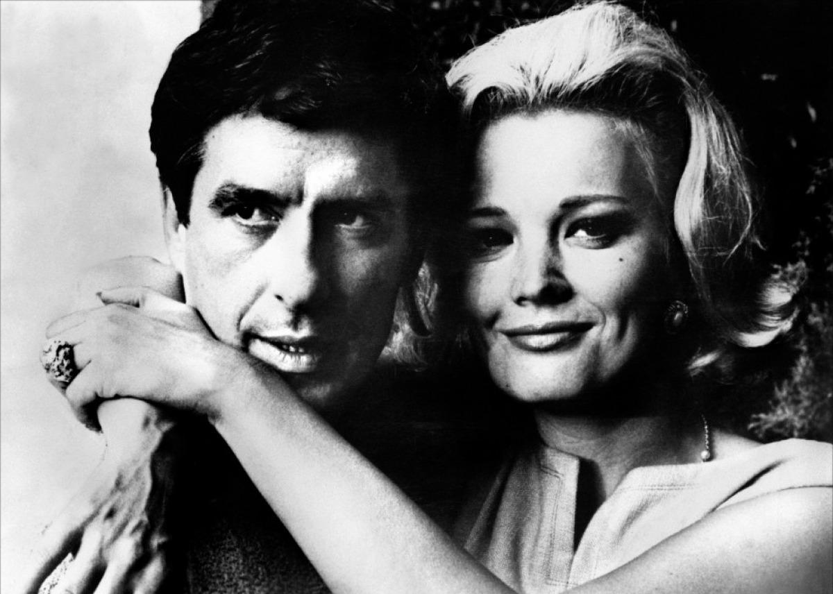 Los bellos y malditos: John y Gena Rowlands.