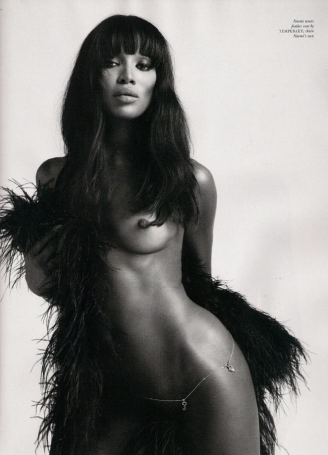 Naomi Campbell por Mert Alas & Marcus Piggott en Love Magazine Issue 3. Magazine de cultura, erotismo, desnudo, arte y actualidad.