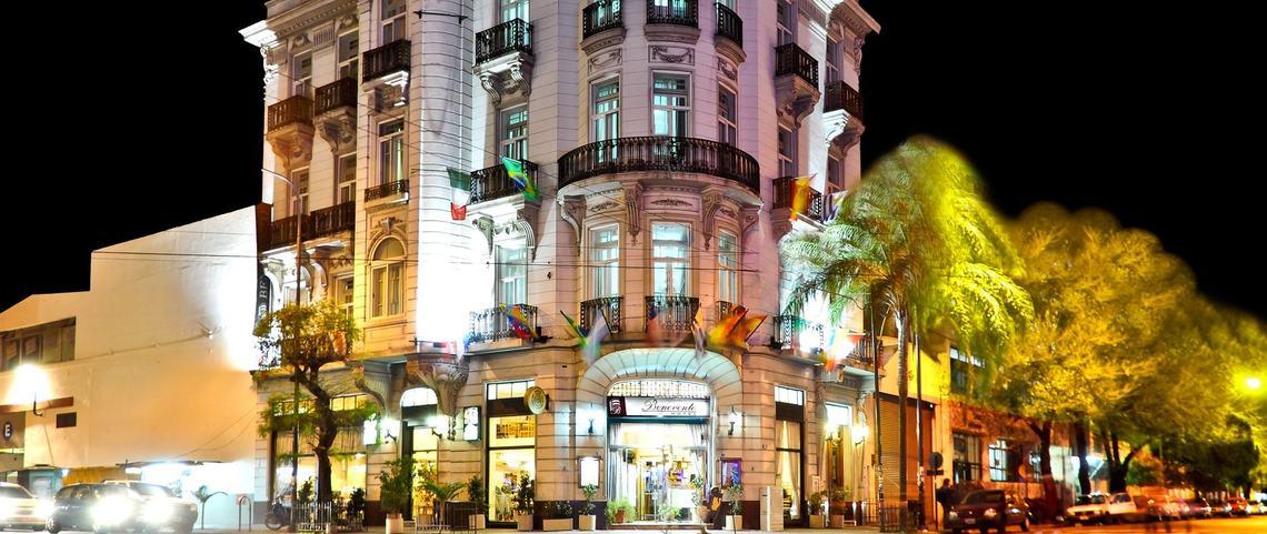 HOTEL BENEVENTO en La Plata. Diagonal 80 y calle 2. Edificio histórico.
