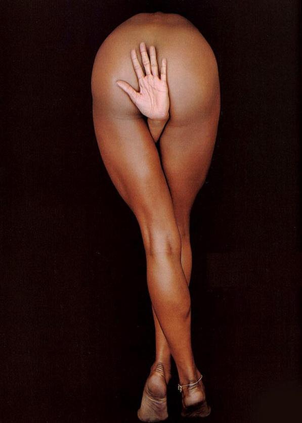 Richard Avedon con foto de Naomi Campbell.