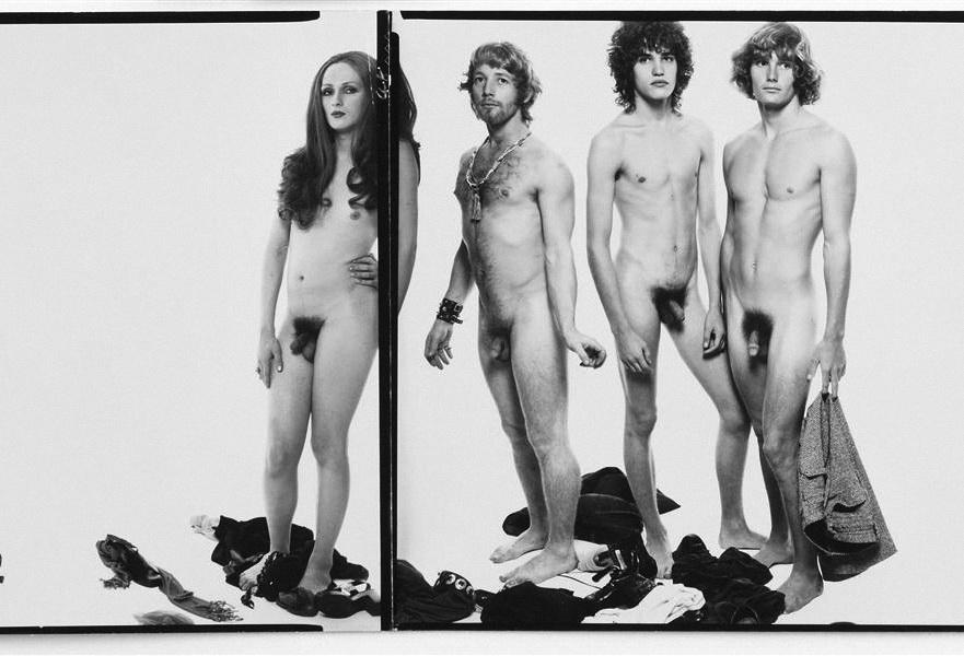 Avedon, mural para Andy Warhol.