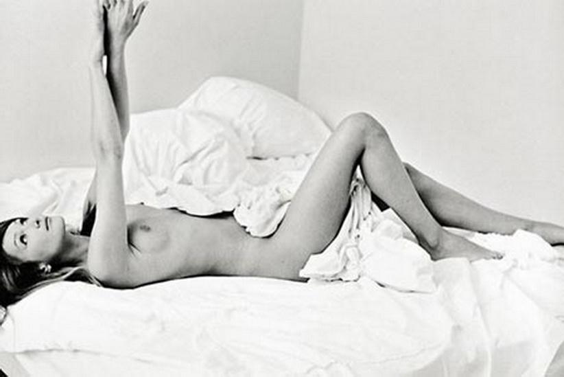 Carla Bruni por Pamela Hanson: vale varios llones de euros.