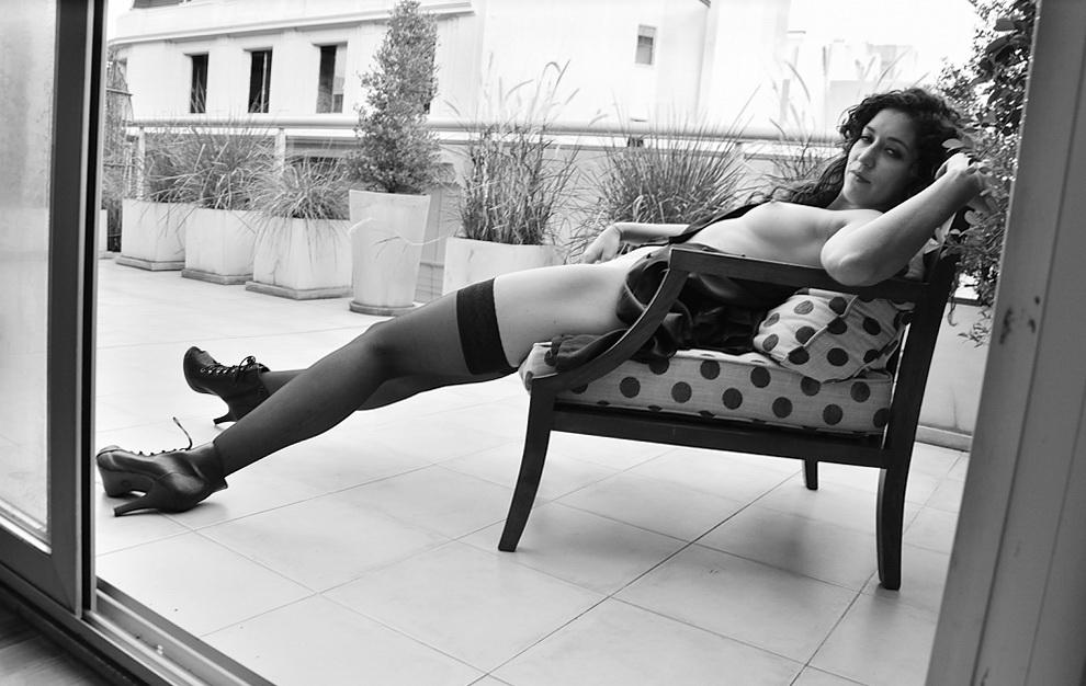 AMILCAR MORETTI. Modelo: Cata Matus. Buenos Aires, 2014.