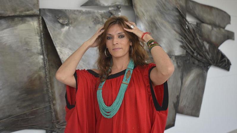 Camila Sosa Villada, actriz de Córdoba, ahora en Buenos Aires con una obra de Jean Cocteau.