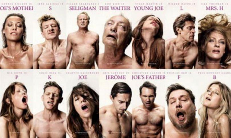Nymphomaniac. WILLEM DAFOE y otros grandes actores actuando orgasmos en el filme de Lars Von Trier.