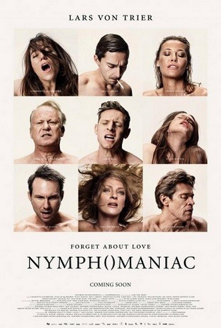 """Afiche con notables actores actuando orgasmos en la película de LArs Von Trier (2Bailarina en la oscuridad"""")"""