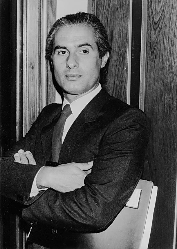 Amilcar Moretti en la misma época que Cassavetes en las fotos. Él era mejor, claro.
