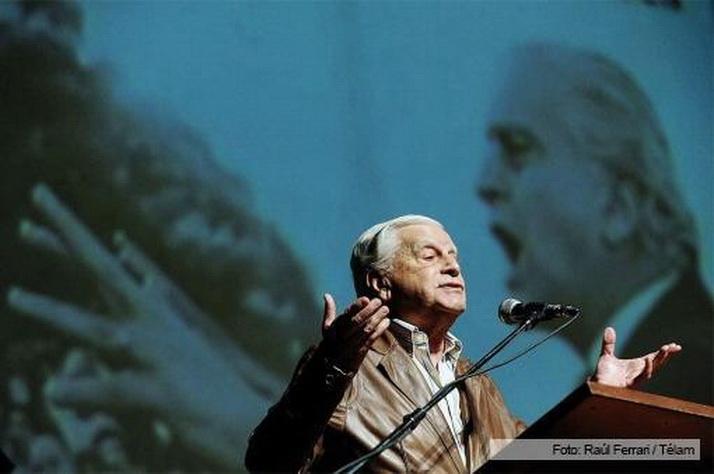 Antonio Cafiero. Falleció a los 92 años. Foto de Raúl Ferrari, agencia Télam.