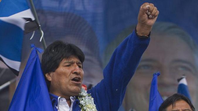 EVO MORALES, electo por tercera vez para ocupar la presidencia de Bolivia. (De Peru21.pe.com)