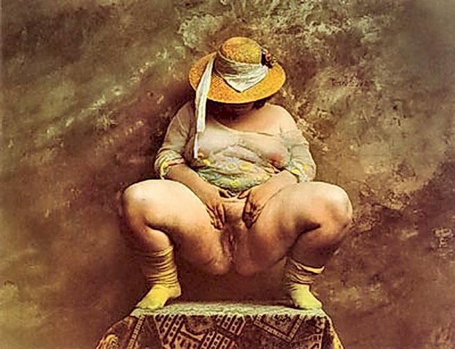 Obra de Jan Saudek, fotógrafo de la República Checa. De los pocos que en la actualidad puede ser denominado maestro mundial.
