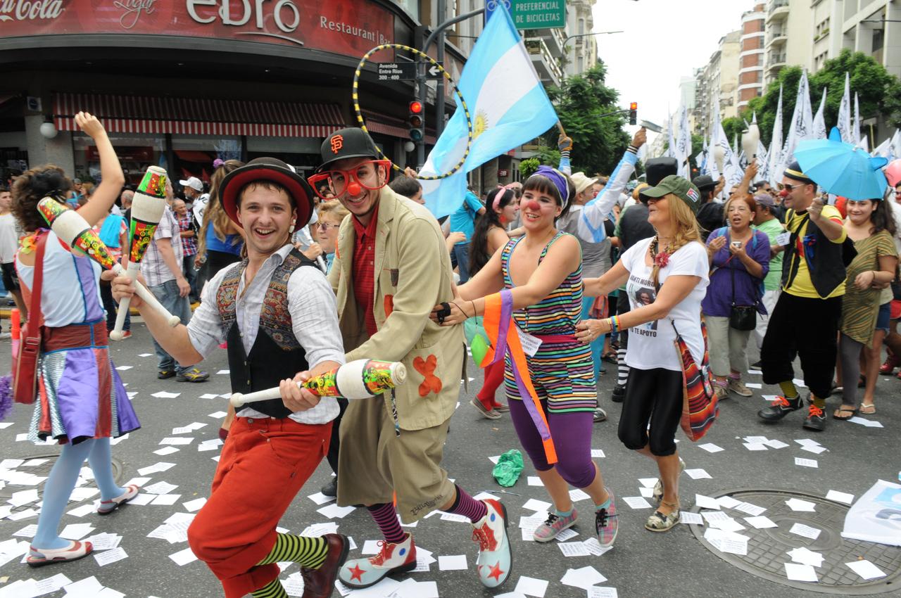 Foto Diego Diez en Clarín diario