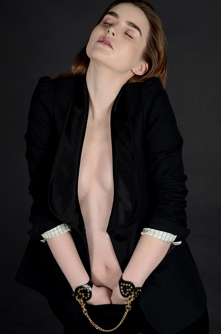 MARK JACOBS, de supermoda internacional hoy, lo destina a modelo Ali Michael. Fotografía de Tom Pendu, que obedece.