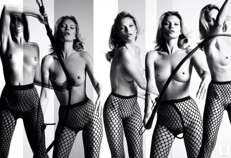 Kate Moss desnuda a los 39 años. Ahora tiene 41. (de www.derf.com.ar)