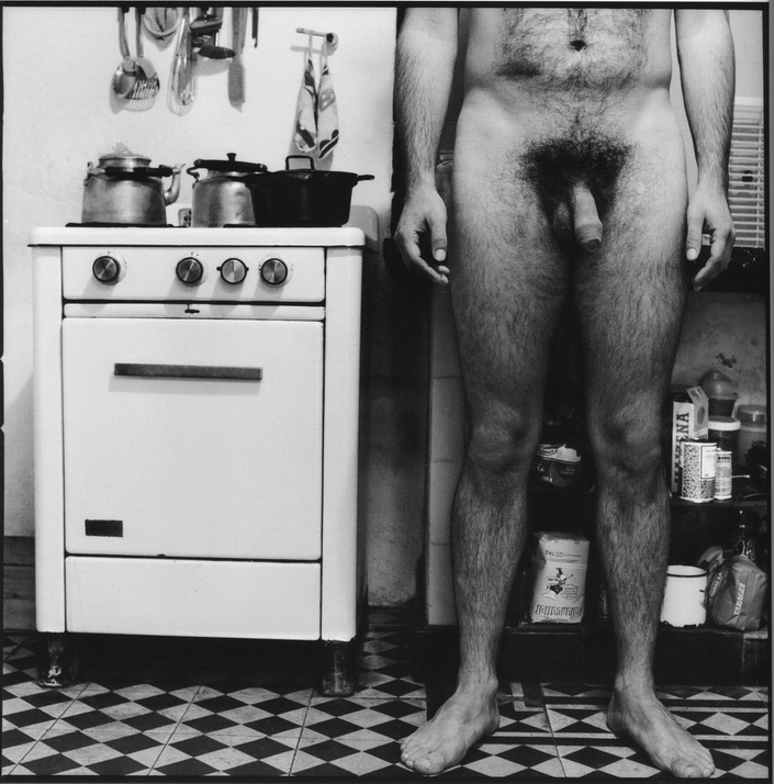 ATAÚLFO PÉREZ AZNMAR. El alemán en su casa, La Plata, 1986.