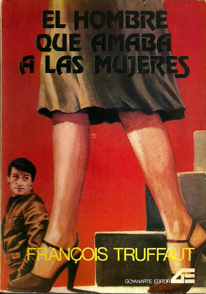 Ejemplar del libro de la película de Truffaut que supo distribuirse en Argentina.