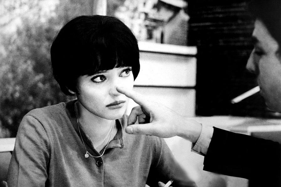 Anna Karina, una de las reinas del Nouvelle Vague Cinema años 60. La otra reina, Catherine Deneuve.