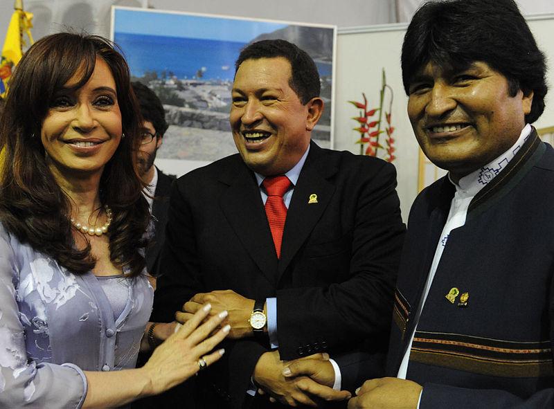 Cristina_Kirchner_Hugo_Chavez_Evo_Morales_South_America_Latin_America