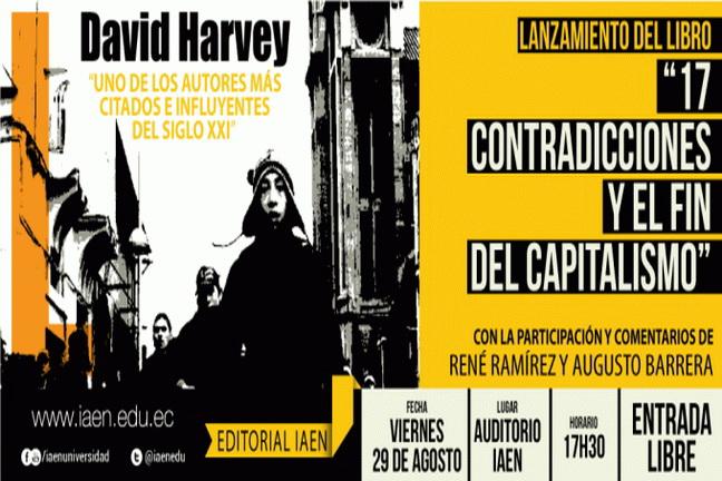 Para la presentación del libro del catedrático inglés David Harvey. (de la www.laizquierdadiario.com)