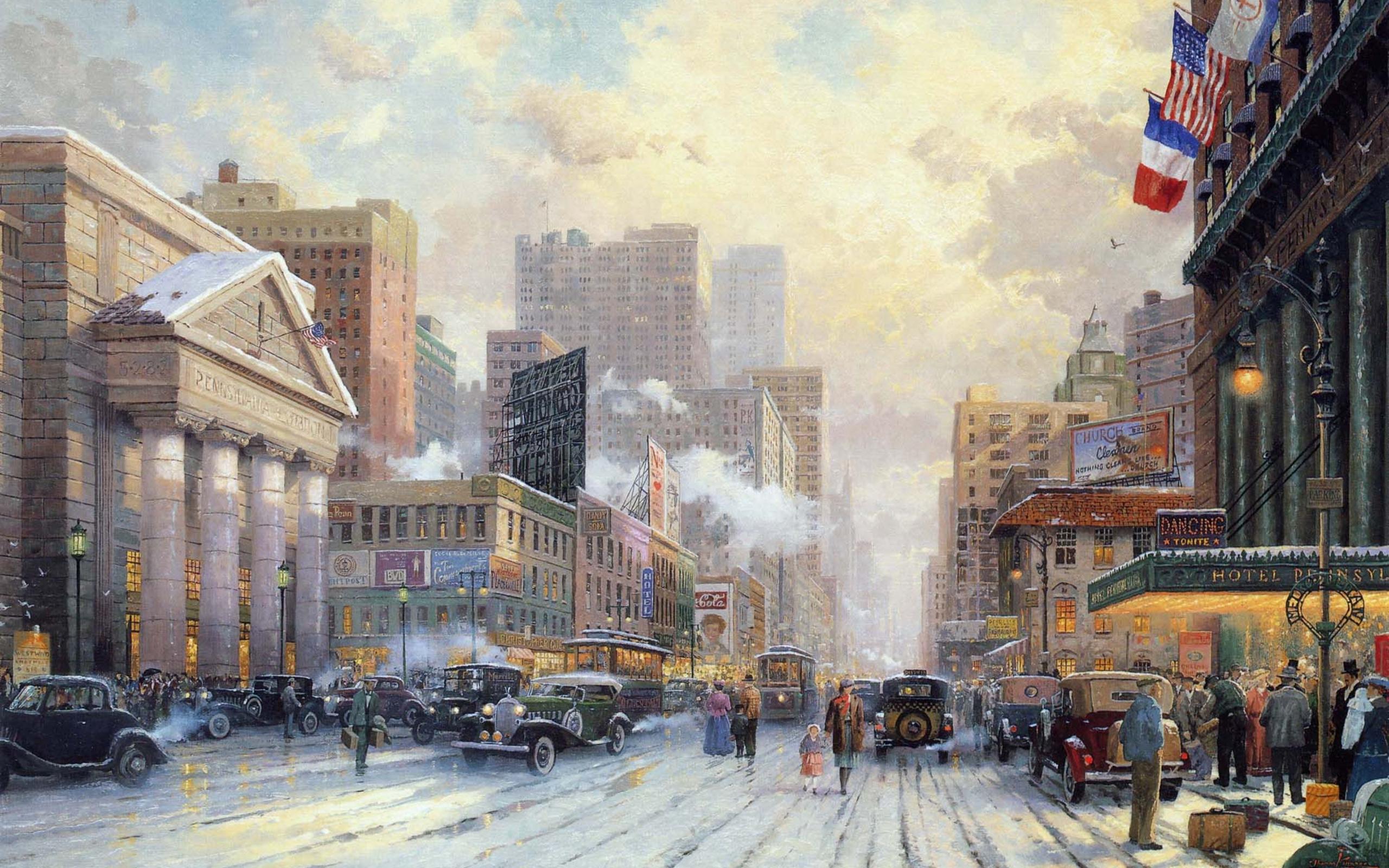 Thomas Kinkade. Nueva York. (De Taringa)